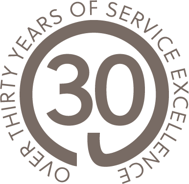 Over 30 years of service excellence