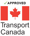 Approved with Transport Canada