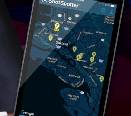 ShotSpotter Mobile Interface