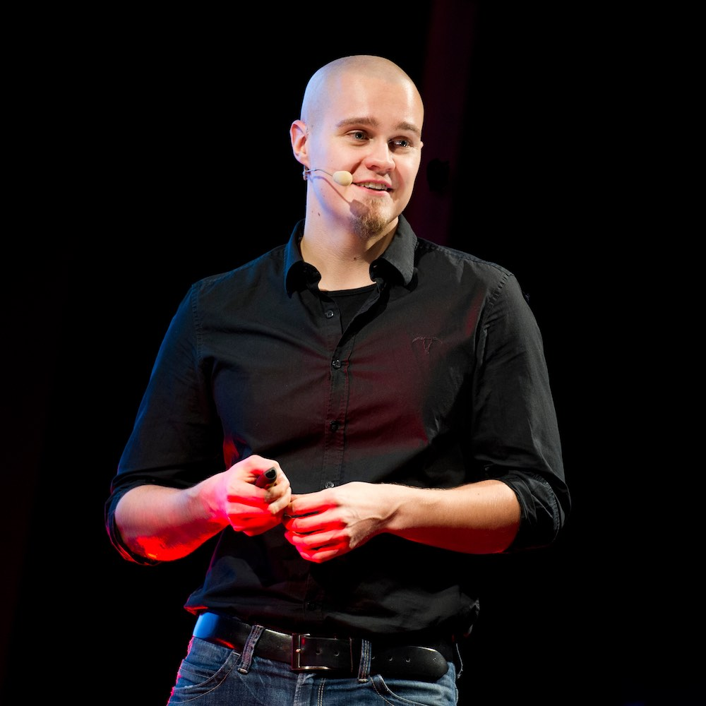Jussi Venäläinen puhe TEDx