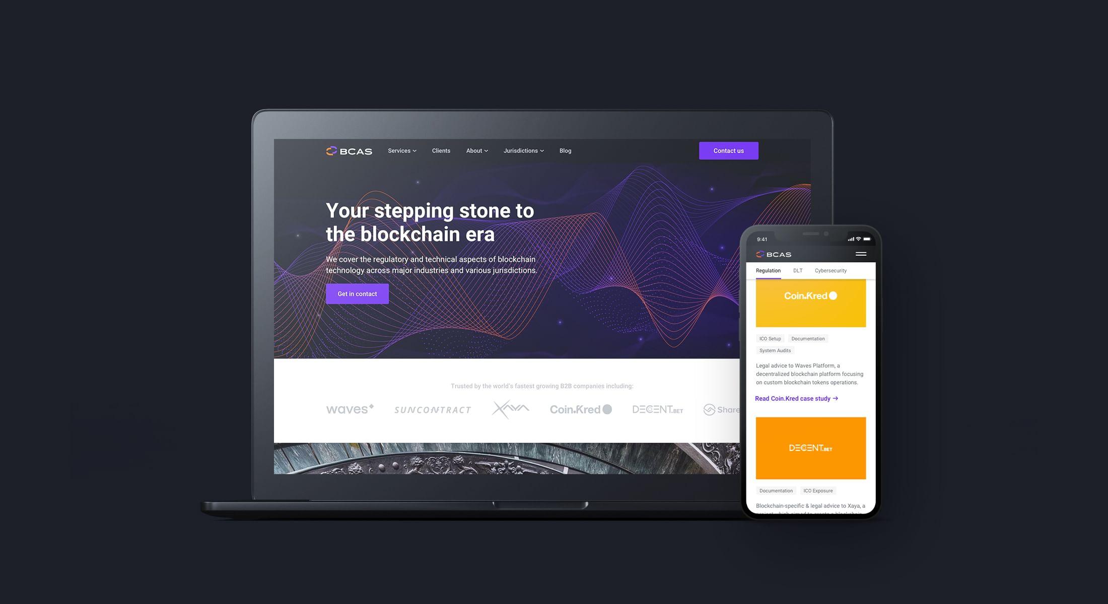 BCAS Website Redesign