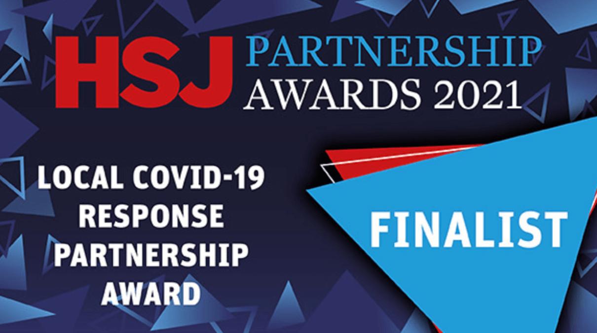 HSJ Partnership awards 2021 Finalist
