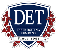 DET Distributing company logo