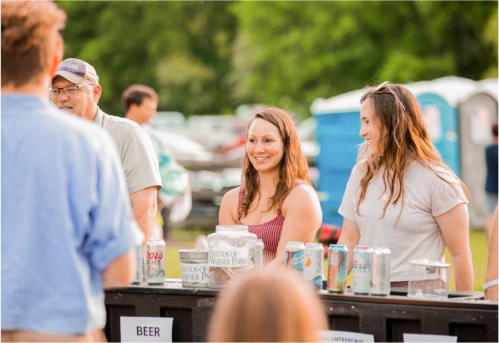 People at Warner Park event