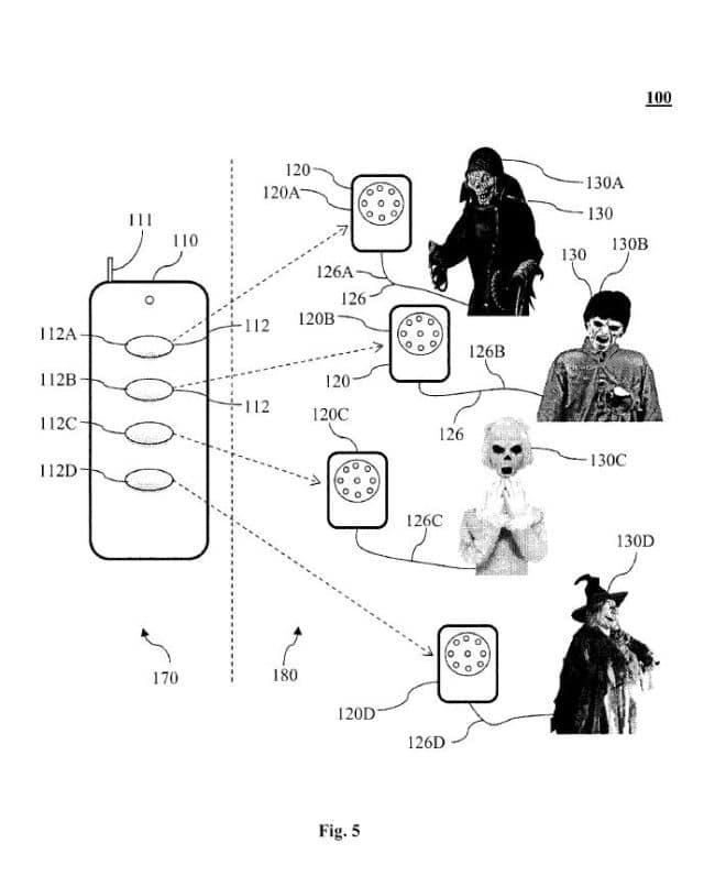 Halloween Patent auf die technische Steuerung von Requisiten