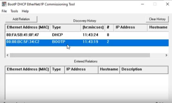 1756-ENBT - ControlLogix EtherNet IP Communication Allen Bradley PLC 1756-EN2T 1756-EN3T Programming BOOTP