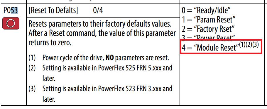 Powerflex 525 Vfd Setup