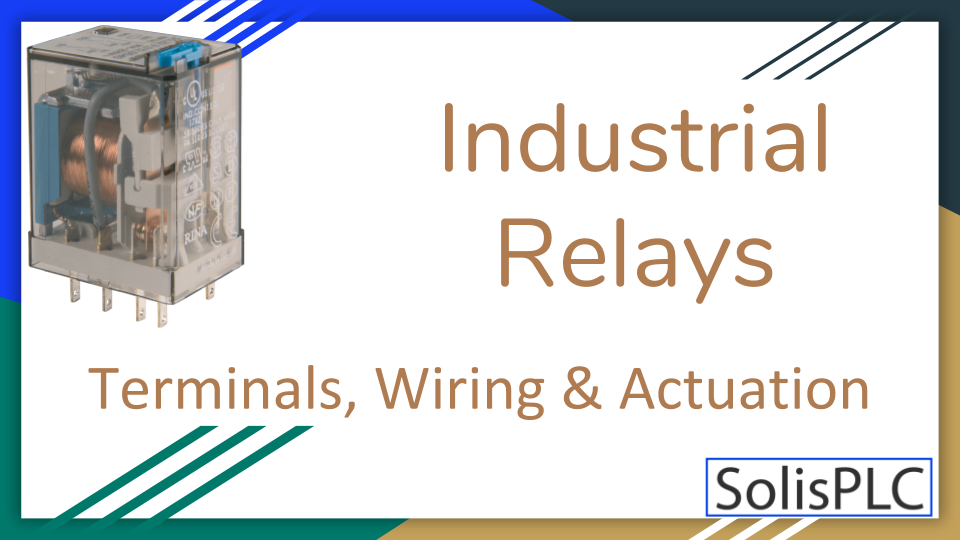 Industrial Relay Control System Wiring A 24 Volt Dc Relay Circuit