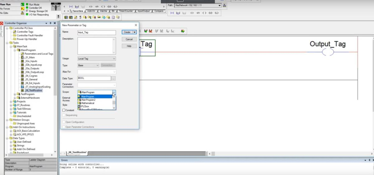 PLC Programming Tutorial | Allen Bradley Training in RSLogix 5000 Ladder Logic Basics for Beginners