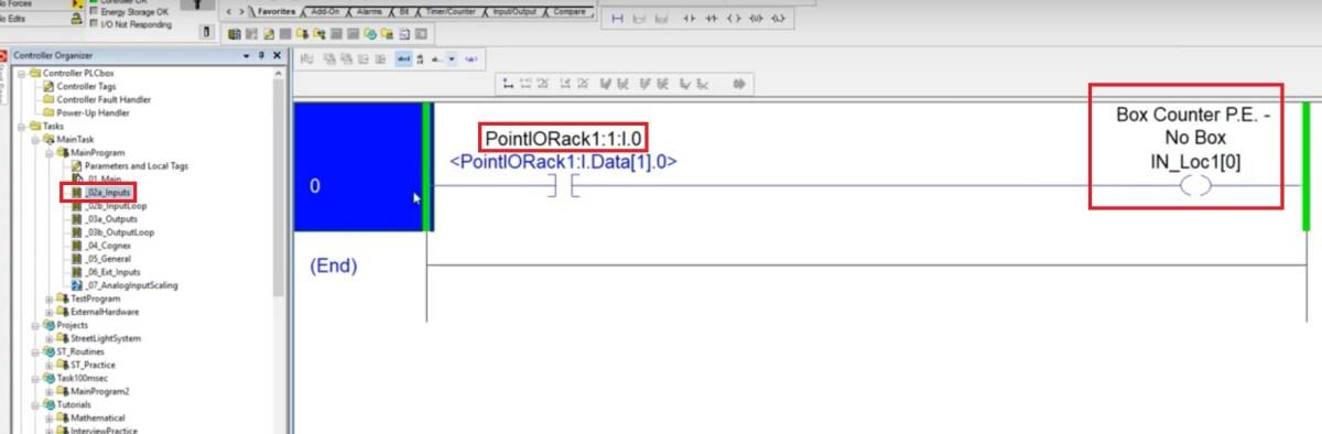 Point IO 1734 Allen Bradley - Tutorial on Programming Inputs Outputs in RSLogix Studio 5000 Ladder
