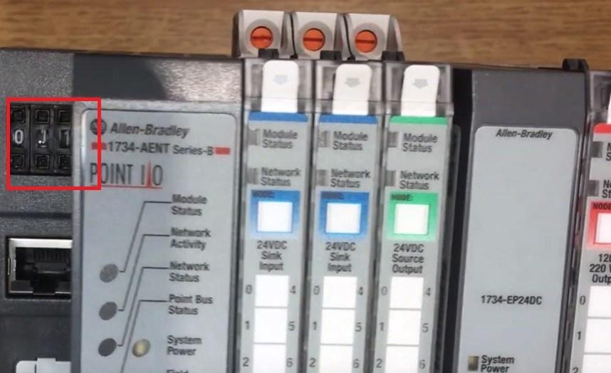 PointIO Allen Bradley Hardware & Software Tutorial | 1734-AENT Point IO EtherNet RSLogix 5000 Logic
