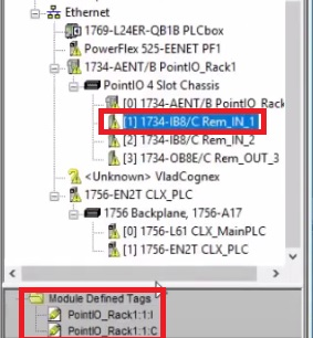 RSLogix 5000 Tag Structure - Creating Alias Tags for PLC Input Output Modules Point IO Studio 5000
