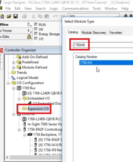 PLC Programming | CompactLogix 1769-IF8 Analog Input Module RSLogix 5000 Configuration example