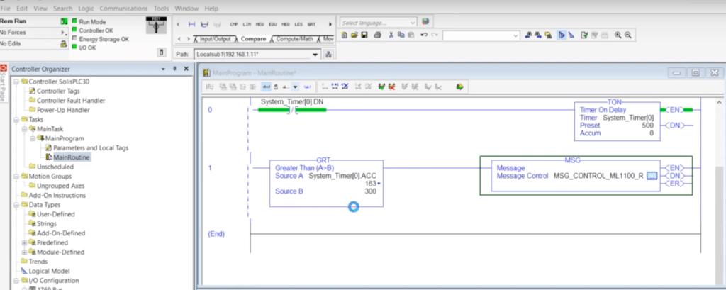 PLC Programming MSG Instruction - Send Data Between MicroLogix & CompactLogix PLCs Studio 5000 Guide