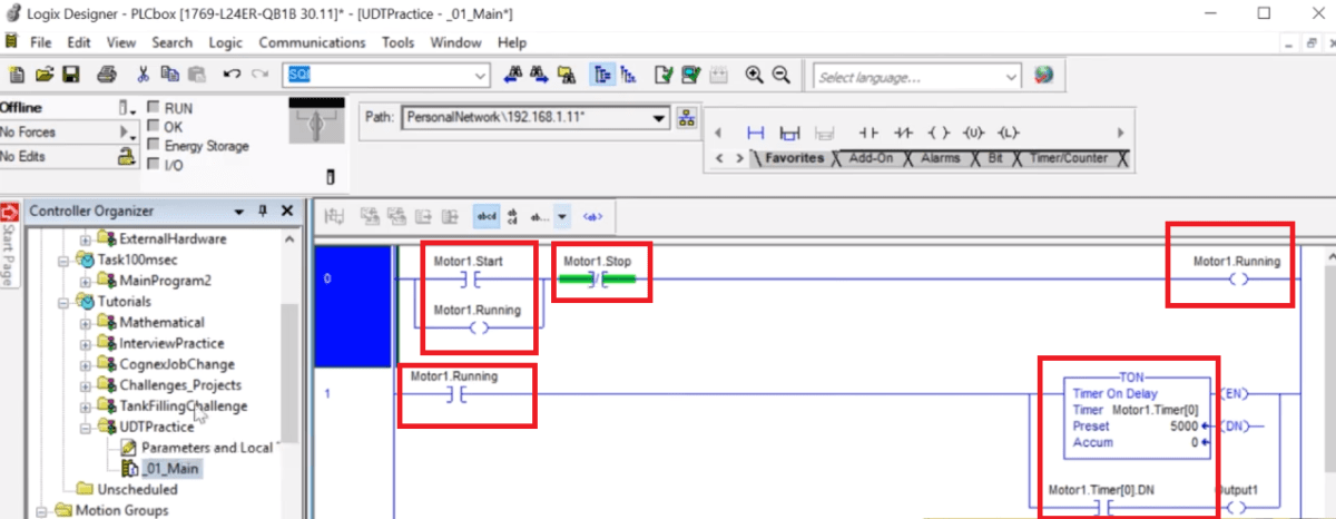 User Defined Datatype UDT Tutorial - Explanation, Examples & Custom Definition in RSLogix 5000