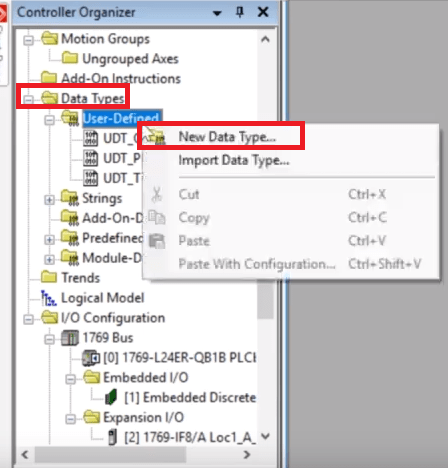 User Defined Datatype UDT Tutorial - Explanation, Usage Examples & Custom Definition in RSLogix 5000