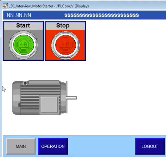 MotorStarterPLCProgrammingInterviewQuestion