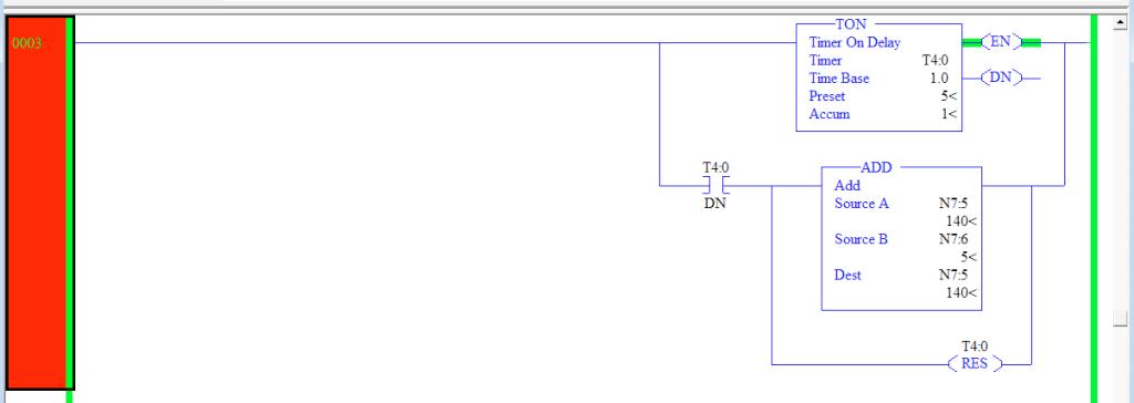 ADDTimerInstructionIncrementLadderLogicRSLogix5000