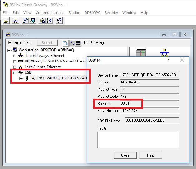 FirmwareFlashingRSLogix5000ABPLC
