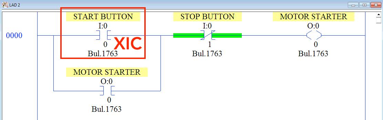 PLC XIC INstruction RSLogix 500