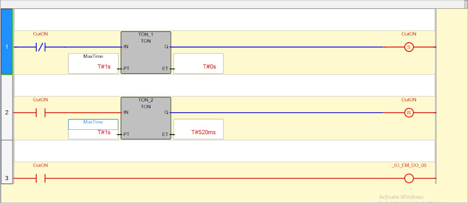 Micro800 New Ladder Logic Diagram Example