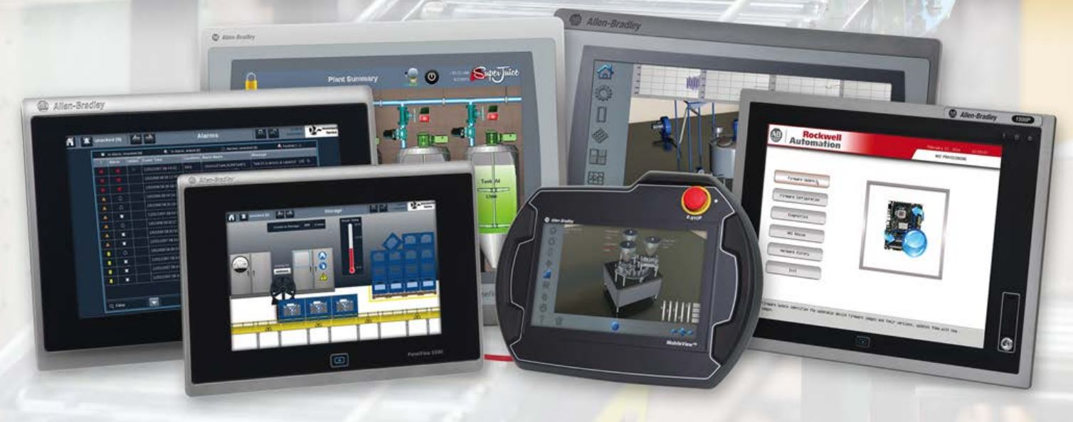 HMIDesign - Terminal Selection [PanelView 7 Terminals from Allen Bradley]
