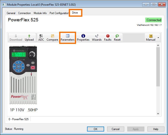 PowerFlex 525 - Drive Parameters