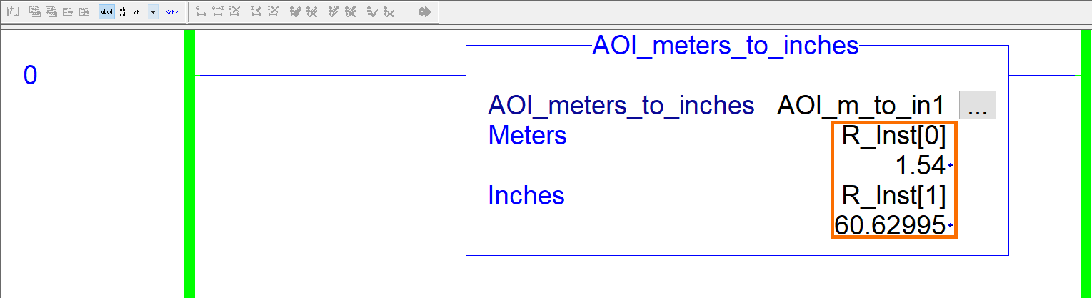 RSLogix Studio 5000 Add-On Instruction [AOI] PLCProgramming - Instruction Parameters Example 1