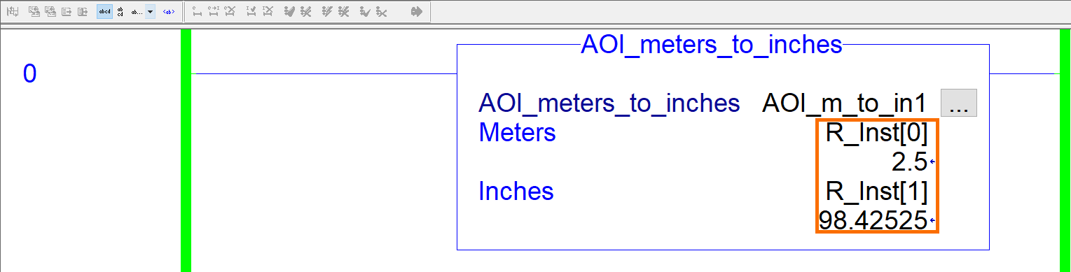RSLogix Studio 5000 Add-On Instruction [AOI] PLCProgramming - Instruction Parameters Example 2