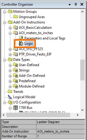 RSLogix Studio 5000 Add-On Instruction [AOI] PLCProgramming - AOILogic