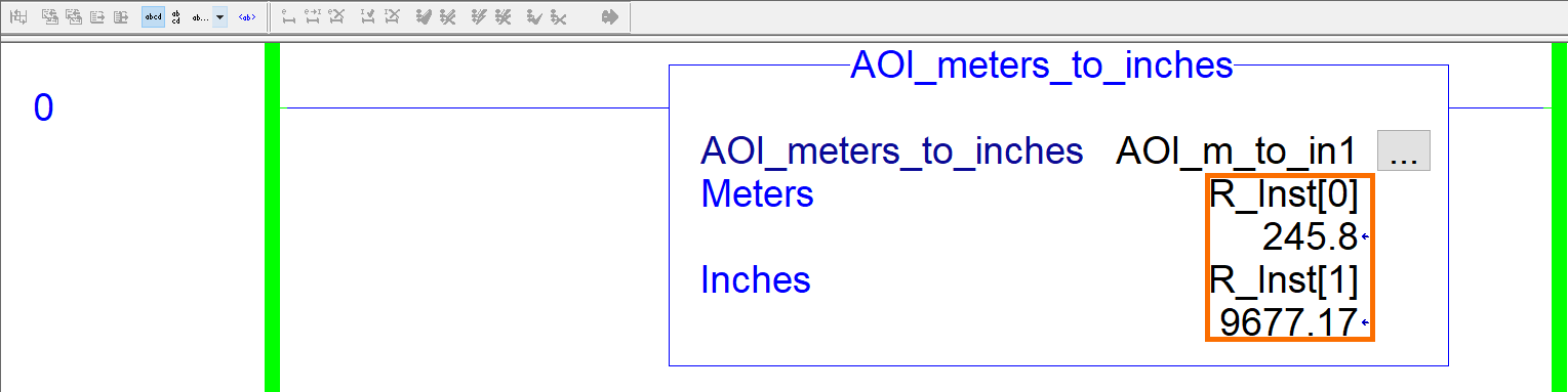 RSLogix Studio 5000 Add-On Instruction [AOI] PLCProgramming - Instruction Parameters Example 3