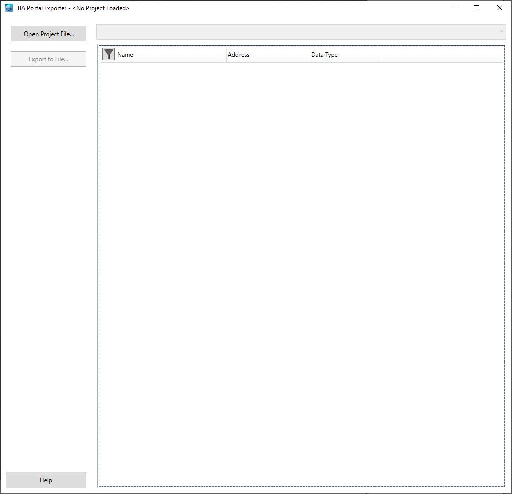 Exporting TIA Portal Project tags