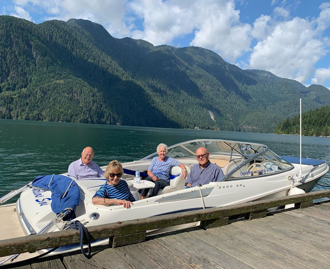 Always a treat to show the locals a little bit of Indian Arms paradise. Indian Arm Boat Charters thanks you for booking your last minute adventure.