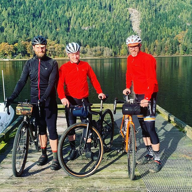 How about a boat access only bike ride with Indian Arm Boat Charters?