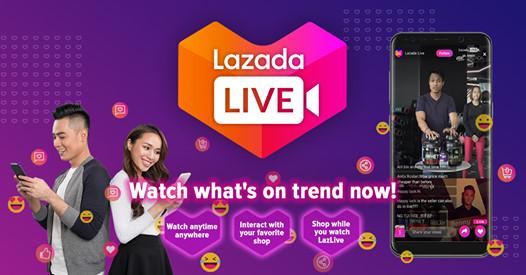 lazada livestreaming