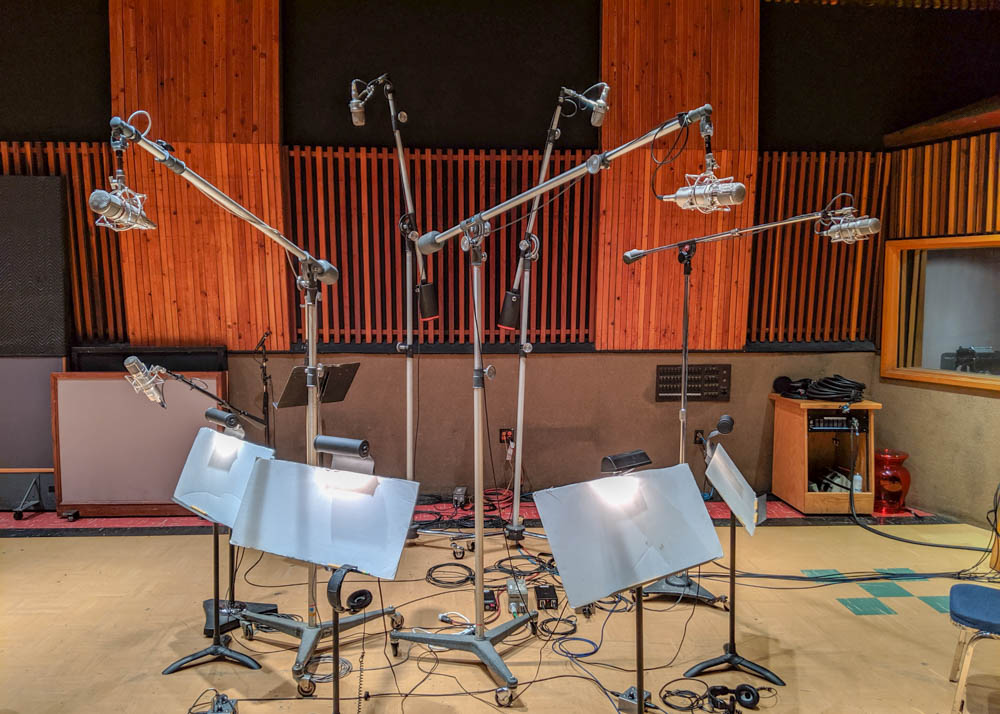 String Session at EastWest Studio Two