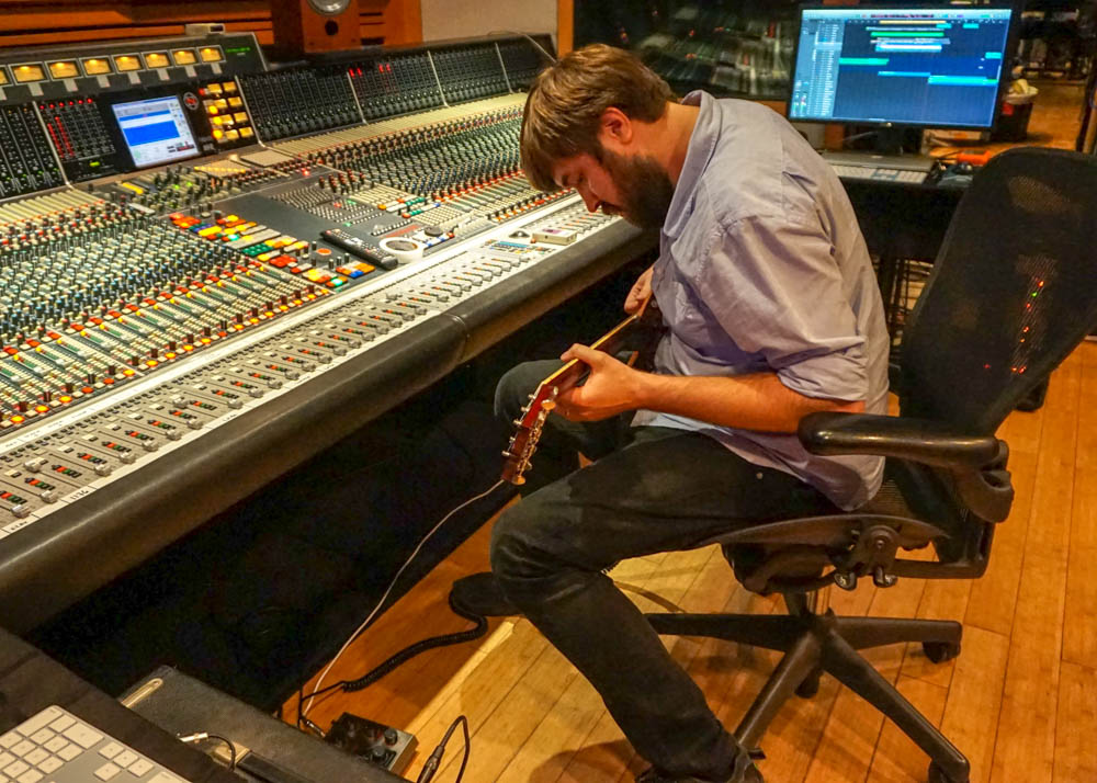 Tracking at The Village Recorder