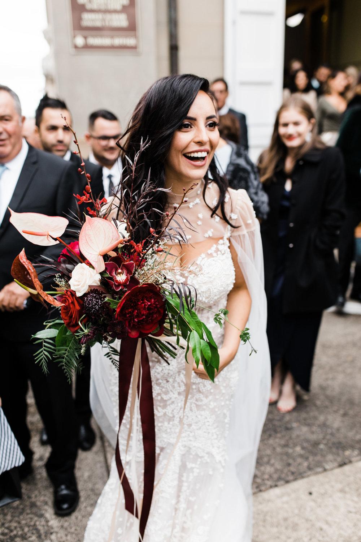 sydney bride flowers wedding
