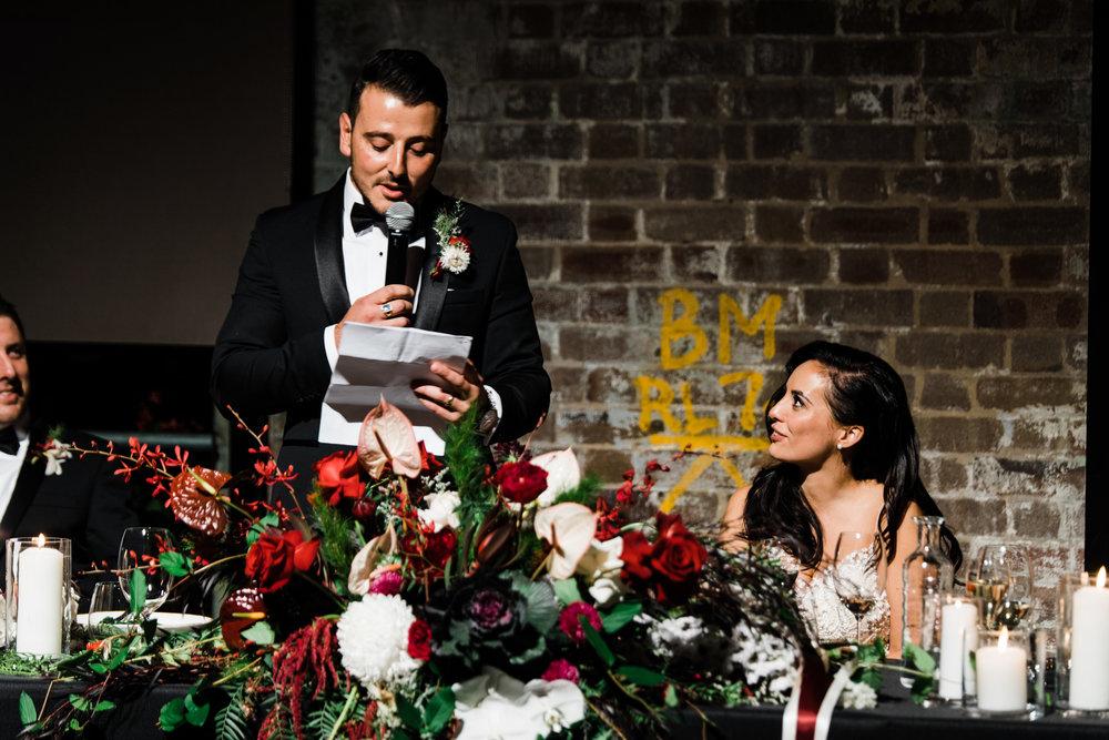 bar m machiavelli sydney wedding venue reception styling