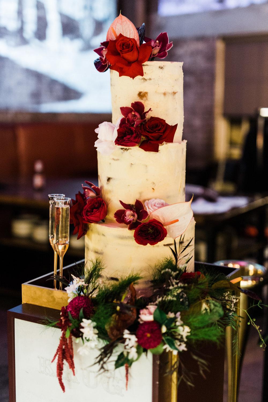bar m machiavelli sydney wedding venue reception cake