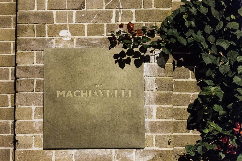bar m machiavelli rushcutters bay