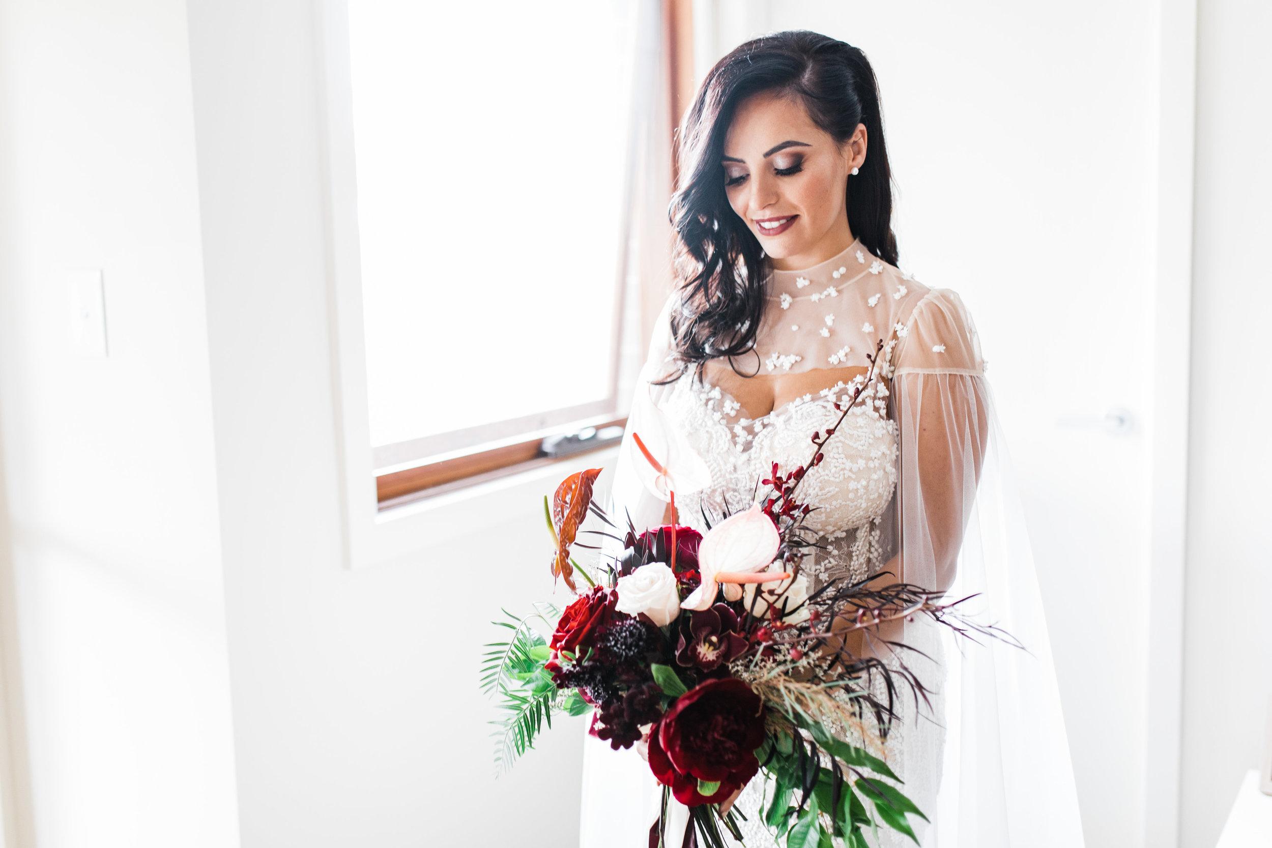 bar m wedding carla steve sydney bride