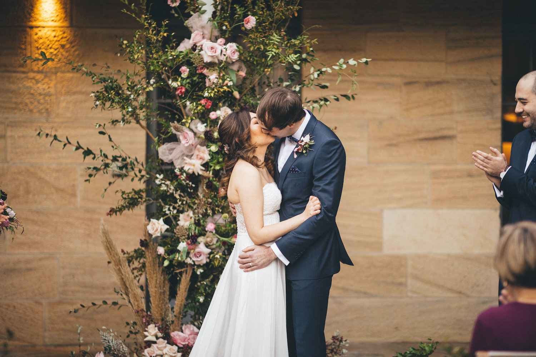 gunners barracks wedding sydney florist ceremony