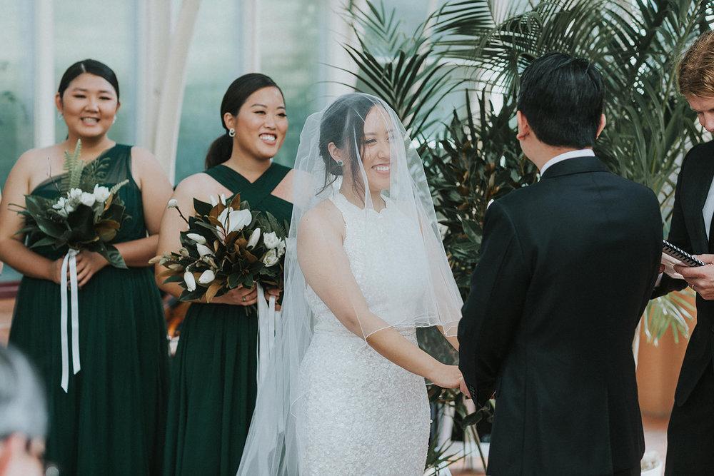 sydney wedding ceremony botanic gardens