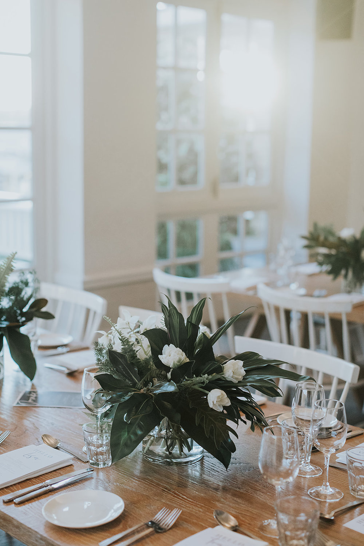 sydney wedding reception venue watsons bay boutique hotel flowers