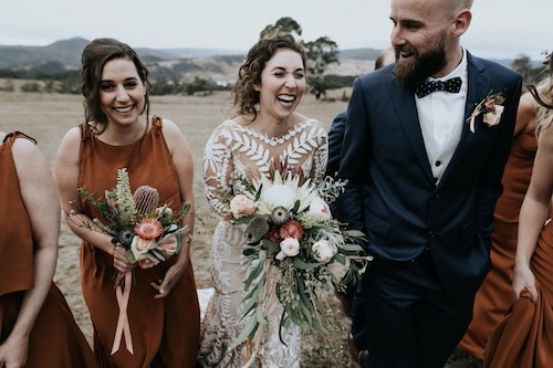 Avital & Bryce's Seclusions, Blue Mountains Wedding