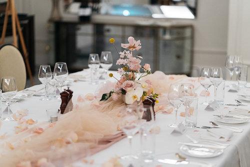 Luciana & Kentaro's Intimate Wedding Reception at The Langham Sydney
