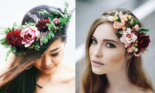 Wedding Hair Flowers - 5 Ways to Style it Up!