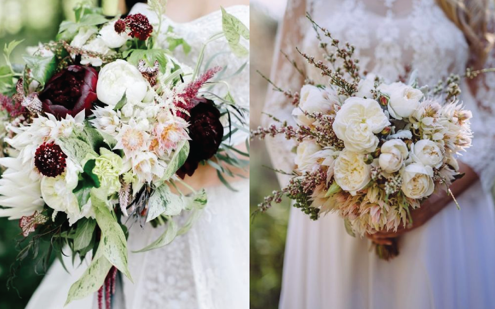 Winter Wedding Flowers - 20 Pretty Bridal Bouquets to Lust After