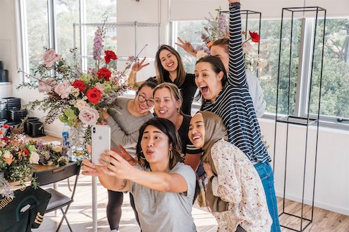 Flourish Sydney Floristry Intensive Workshop 2019